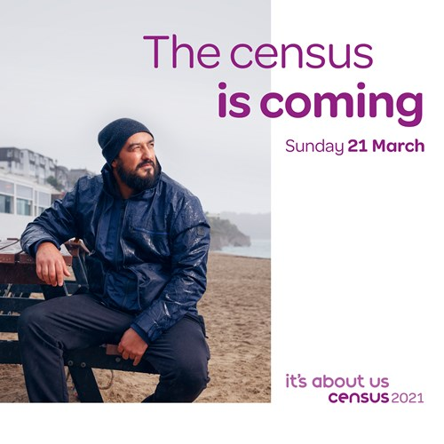 The census is coming on Sunday 21 March